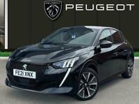 2021 Peugeot 208 50kwh Gt Premium Hatchback 5dr Electric Auto 136 Ps Hatchback E