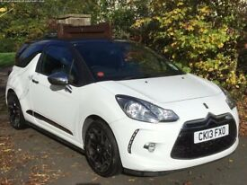 2013 Citroen DS3 Cabrio 1.6 THP DSport Plus 2dr - IMMACULATE TOP SPEC - 1 OWNER - Full serv history