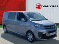2020 Vauxhall Vivaro 2.0 Turbo D 3100 Sportive Crew Van 5dr Diesel Manual L1 H1