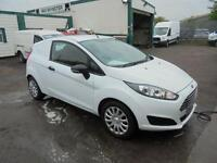 Ford Fiesta 1.5 Tdci Base Van DIESEL MANUAL WHITE (2014)