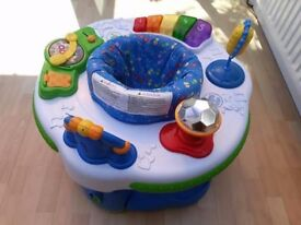 Leap frog activity station