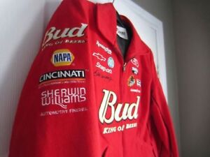 Ladies Chase Authentics Nascar Jacket - Dale Ernhardt Jr