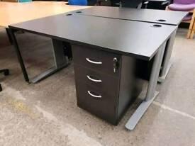 Black Ash Office Desks Available.