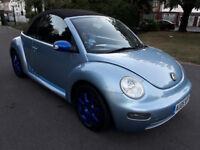 2005 Volkswagen Beetle 1.6 S Cabriolet --- Manual --- Part Exchange Welcome --- Drives Good