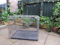 Dog crate. Medium sized dog cage