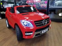 MERCEDES ML KIDS RIDE ON ELECTRIC REMOTE CONTROL CAR BRAND NEW AGES 3 TO 5