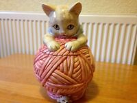 Cat & Mouse Cookie Jar/Container