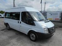 Ford Transit 300 Shr Bus 9 Str DIESEL MANUAL WHITE (2013)