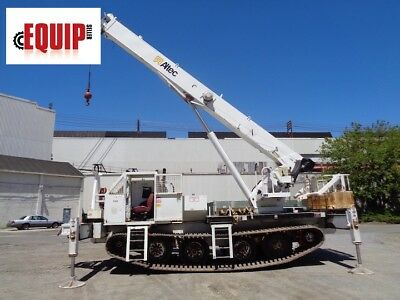 2007 Altec 26 Ton Hydraulic Rough Terrain Crane Boom Lift - 149 Ft Height