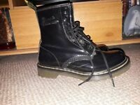 Womens Patent Leather Doc Martens