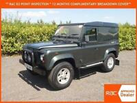 2006 Land Rover Defender 90 Van SWB stunning condition only 59,000 miles 4x4