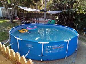 massive 12 foot above ground pool Kallangur Pine Rivers Area Preview