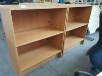 Modern two tier shelving units £25 each