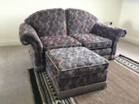 FREE TWO SEATER VINTAGE SOFA COLLECT ASAP