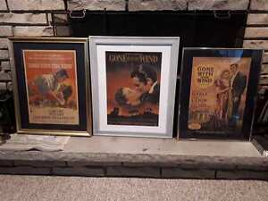 Gone with the Wind Framed Posters