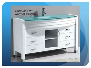 WHEN A WHITE VANITY IS JUST RIGHT-MANY MODELS-SIZES TO CHOOSE!!