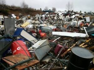 . APPLIANCE. DROP. OFF, AND.  scrap matel ect.