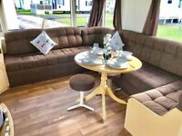 Cheap finance on this static caravan £1500 and £250pm, 11 month Season, full of family fun