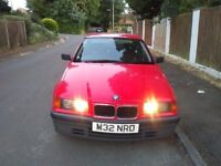 BMW 3 Series 316i Auto Red. Low Miles Automatic, 12 Months MOT, Drives Perfect Recent Full Service