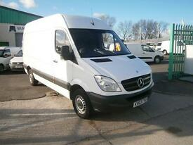 Mercedes-Benz Sprinter 313cdi mwb High Roof 130ps DIESEL MANUAL WHITE (2013)