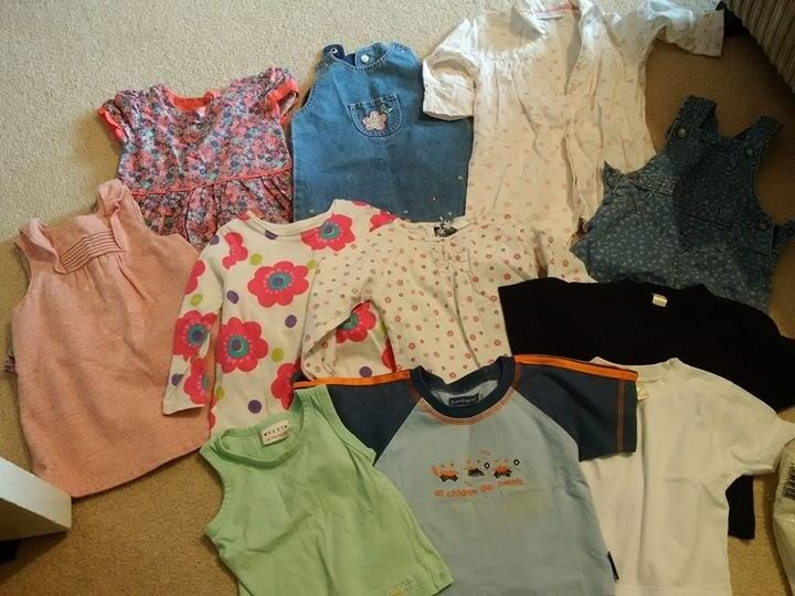 Bundle of girls clothes 9-12months