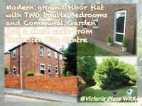 2-bedroom flat (unfurnished) on ground Floor for RENT on Victoria Place, Worcester