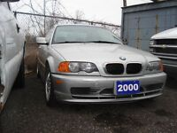 2000 BMW 323Ci 323 Ci COUPE- 5-SPD-#TRADE-IN SPECIAL