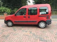 Renault Kangoo Authentique with Wheelchair Access converted by Gowerings. 2002 Reg