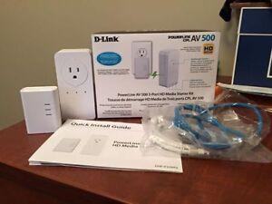 D Link network extender