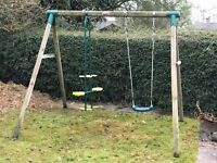 Swing Set - double sided swing and single swing