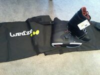 Brand new with tags snowboard boots and bags