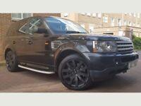 Land Rover Range Rover Sport 3.6 TD V8 SUV 5dr Diesel Automatic (W.MILEAGE+SAT NAV+8M MOT))