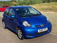 Toyota Aygo 1.0 VVT-i Blue Blue Hatchback 5dr Petrol Manual 3 Month Warranty Low Mileage