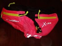 Karrimor Xlite, running belt. Bright pink.