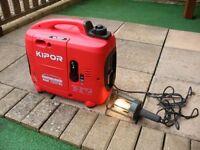 kipor camping mate kge 1300tc has slight fault