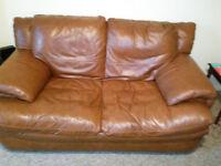 free two seather leather sofa