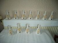 Vases Collection x 11 - Good Condition