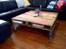 PALLET COFFEE TABLE, SIDE - INDOOR & OUTDOOR FURNITURE SUCCULENTS Little Mountain Caloundra Area Preview