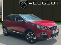 2018 Peugeot 3008 1.6 Bluehdi Allure Suv 5dr Diesel s/s 120 Ps Estate DIESEL Man