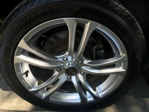 17'' 5x114.3 Wheels with great tires no patches, used one season