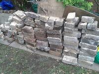 Old garden bricks