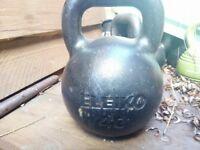 Eleiko Cast Iron Kettlebells job lot 5x 18kg, 20kg, 24kg, 32kg, 40kg New would cost over 550£!