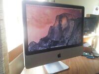 Apple Imac Aluminium 2008 desktop - collect only