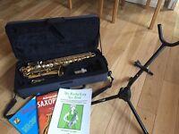 Mirage beginner Saxophone and accessories