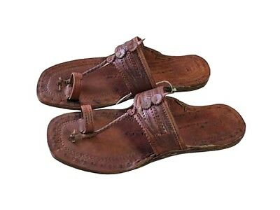 Hand Made Hippie Water Buffalo Leather Sandals - Unisex - Sizes 5-13 (See Chart) (Hippie Sandals)