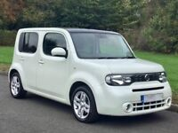 Nissan Cube Kaizan, 2010, 1.6 Petrol, 5 Speed manual, Low mileage (38200), FSH, Excellent condition