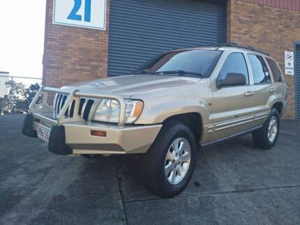 2001 Jeep Grand Cherokee Limited 4WD Wagon. Leather RWC Immac