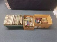 "Over 100 12"" vinyls and 200 7"" singles"