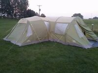 Vango icarus 800 airbeam +canopy and extras