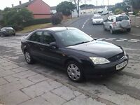 Ford mondeo 1.8. 2003 plate